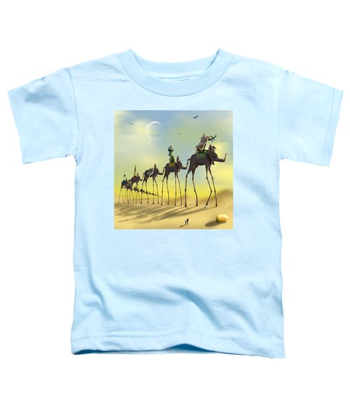 On The Move Toddler T-Shirt by Mike McGlothlen
