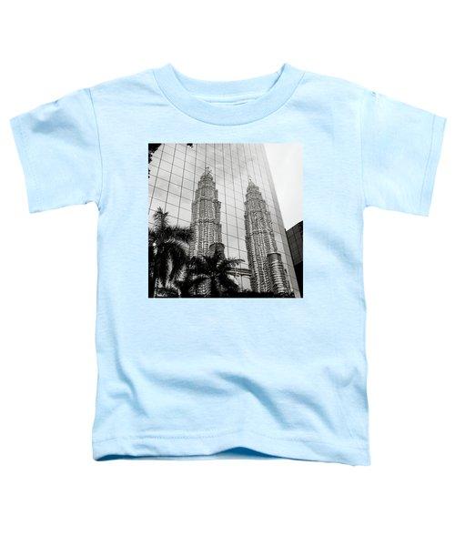Petronas Towers Reflection Toddler T-Shirt