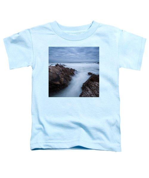 Rugged Coastal Landscape At Montana De Toddler T-Shirt