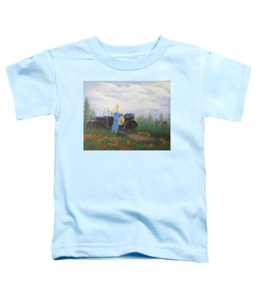 Waiting For A Picnic Toddler T-Shirt