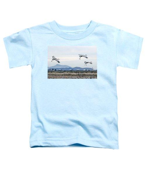 Sandhill Cranes Toddler T-Shirt