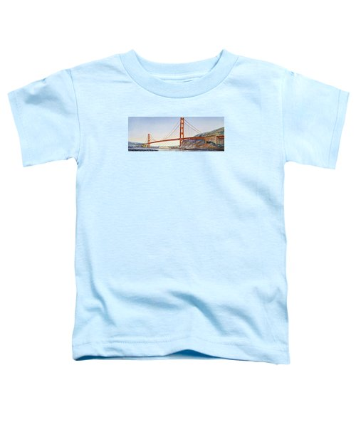 Golden Gate Bridge San Francisco Toddler T-Shirt