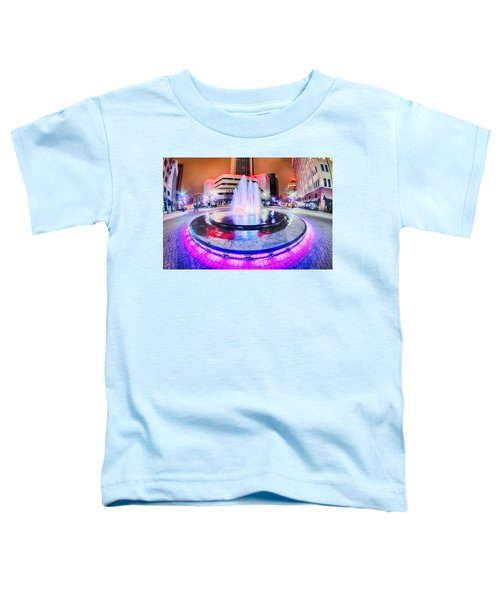 Tulsa City Skyline Around Downtown Streets Toddler T-Shirt