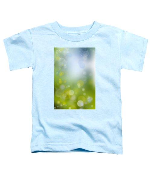 Abstract Circles 47 Toddler T-Shirt