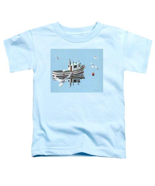 A Contemplation Of Seagulls Toddler T-Shirt