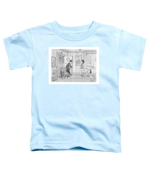 A Male Centaur Toddler T-Shirt
