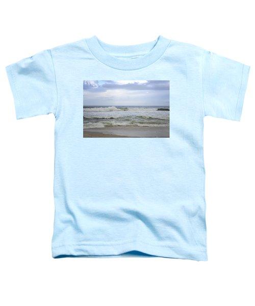 A Peek Of Blue Toddler T-Shirt