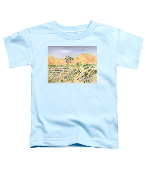 A Voice Calls Toddler T-Shirt