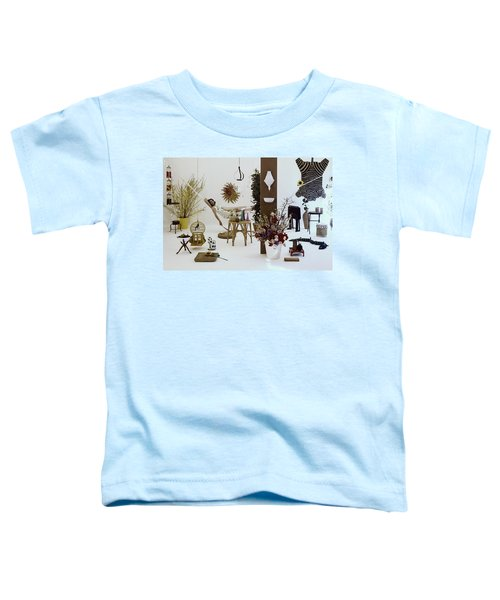 A Woman In A Hammock And Porch Furniture Toddler T-Shirt