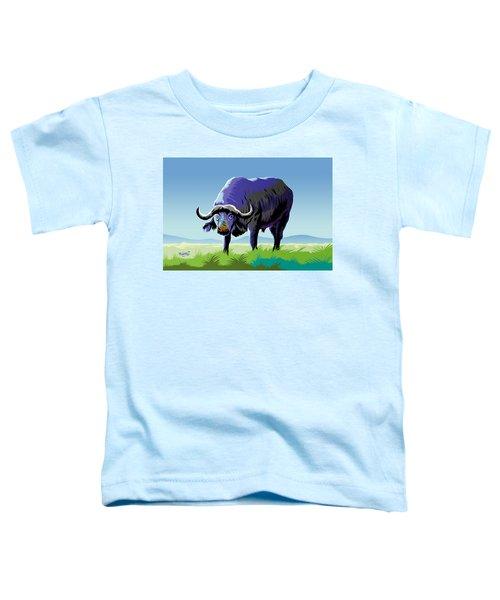 African Buffalo Toddler T-Shirt