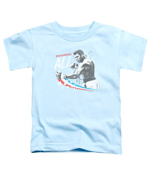 Ali - Star Punch Toddler T-Shirt by Brand A