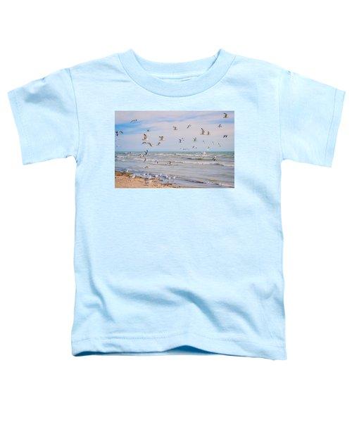 Along The Beach Toddler T-Shirt