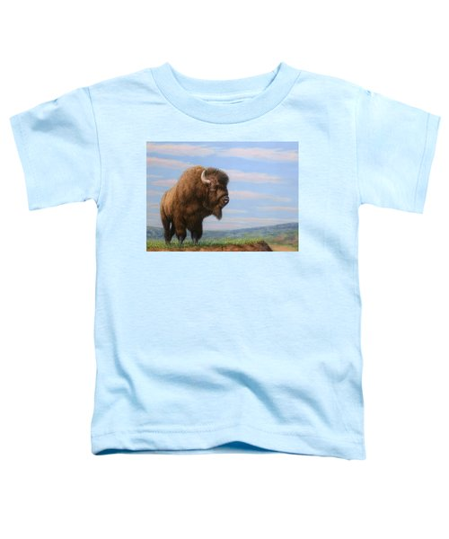 American Bison Toddler T-Shirt