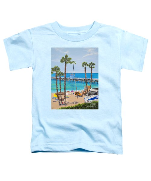 Perfect Beach Day Toddler T-Shirt