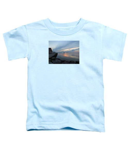 Anderson Dock Sunset Toddler T-Shirt