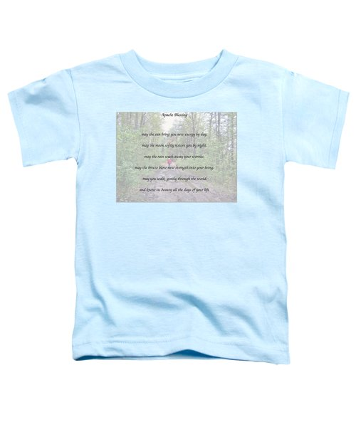 Apache Blessing With Photo Toddler T-Shirt