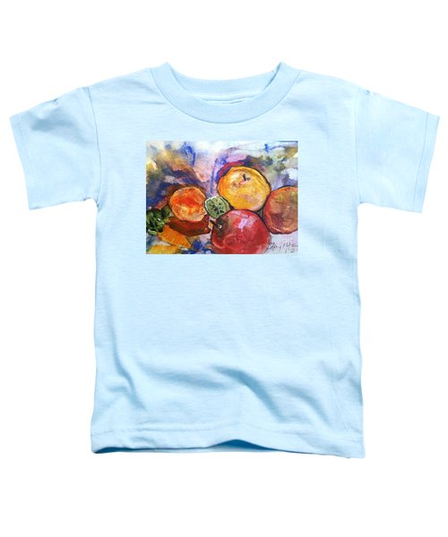 Appetite For Color Toddler T-Shirt