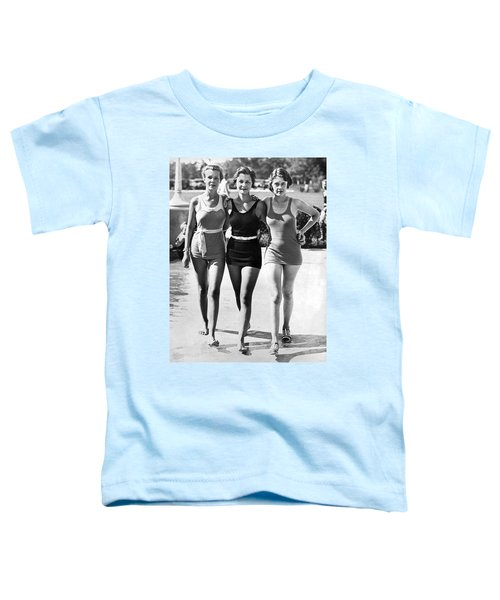 Army Bathing Suit Trio Toddler T-Shirt by Underwood Archives