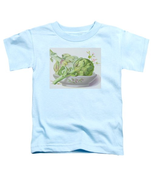 Artichokes Toddler T-Shirt by Lizzie Riches