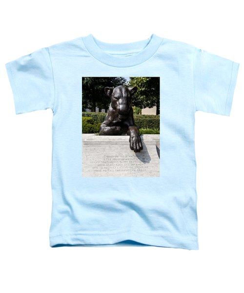 At The National Law Enforcement Officers Memorial In Washington Dc Toddler T-Shirt