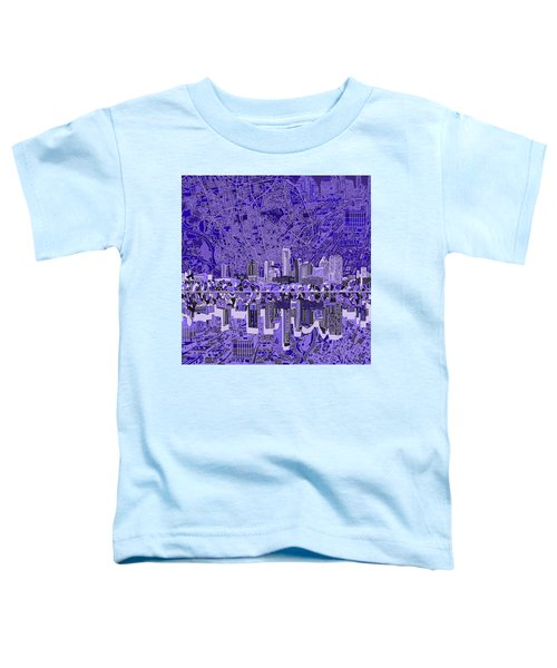Austin Texas Skyline 4 Toddler T-Shirt by Bekim Art