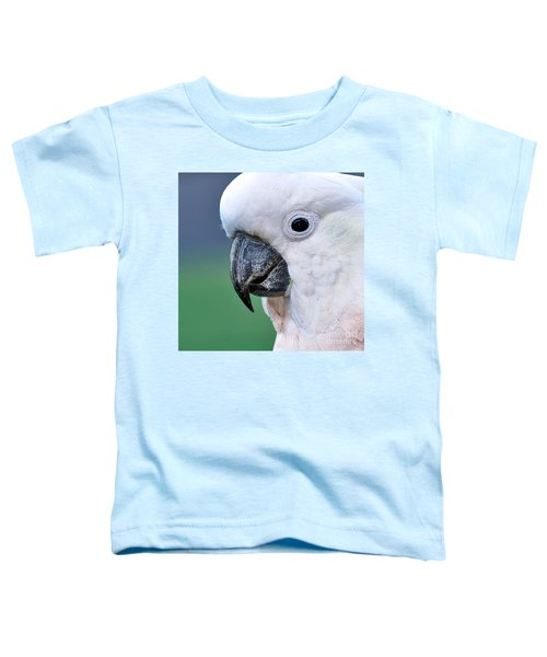 Australian Birds - Cockatoo Up Close Toddler T-Shirt