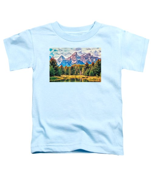 Autumn In The Tetons Toddler T-Shirt