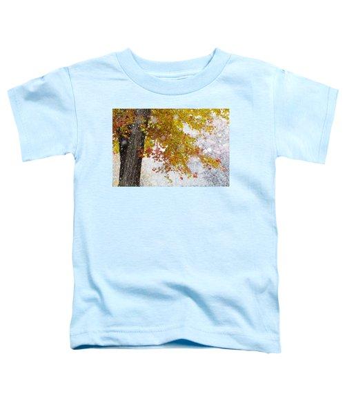 Autumn Snow Toddler T-Shirt