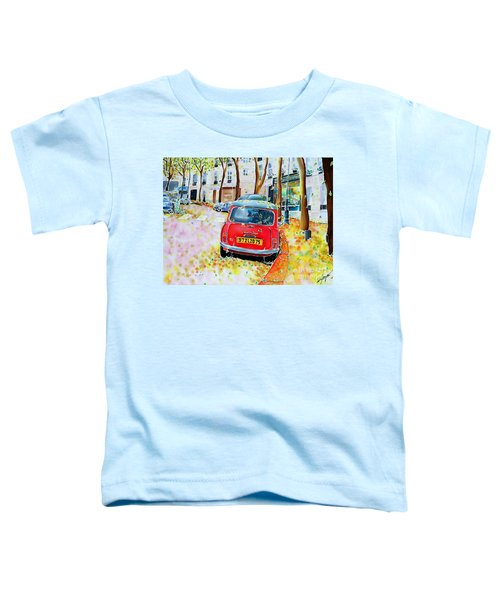 Avenue Junot In Autumn Toddler T-Shirt