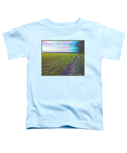 Back Forty - Use Red/cyan Filtered 3d Glasses Toddler T-Shirt