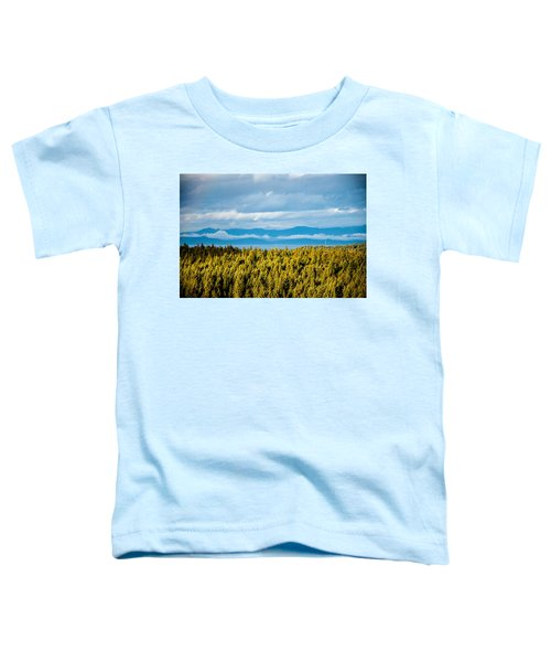 Backroad Ocean View Toddler T-Shirt