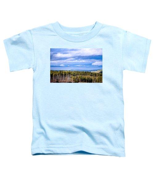 Johnstone Strait High Elevation View Toddler T-Shirt