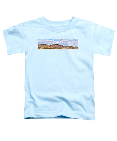 Bardenas Desert Panorama 1 Toddler T-Shirt