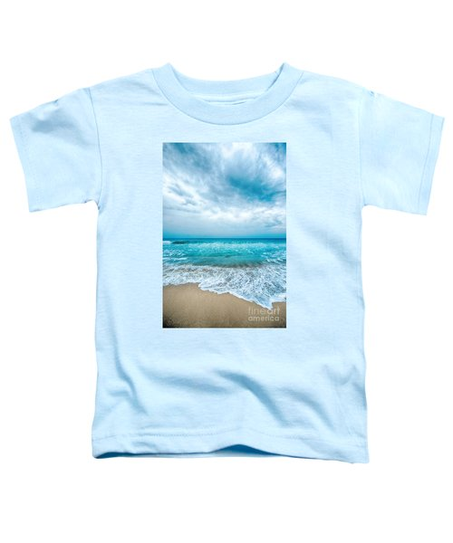 Beach And Waves Toddler T-Shirt