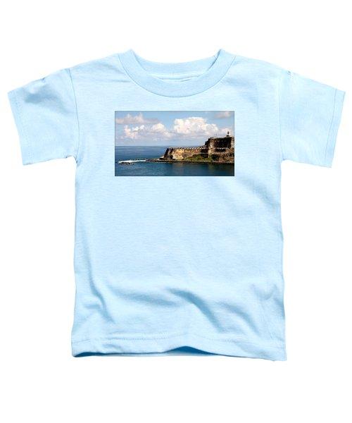 Beautiful El Morro Toddler T-Shirt