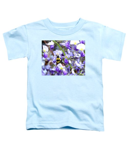 Bee In The Wisteria Toddler T-Shirt