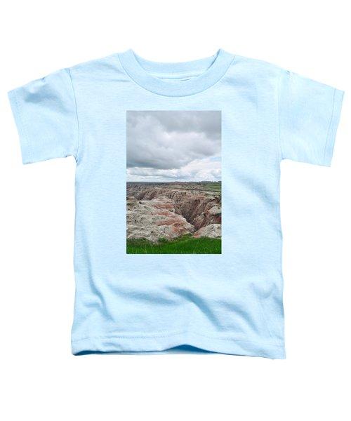 Big Badlands Overlook Toddler T-Shirt