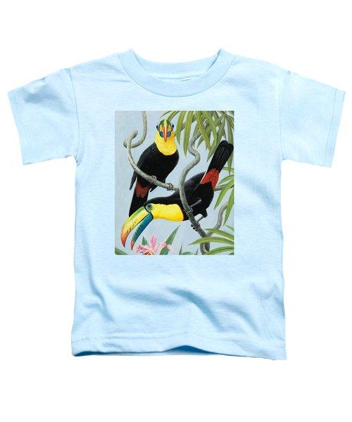 Big-beaked Birds Toddler T-Shirt