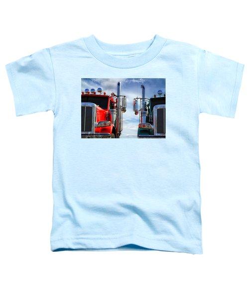 Big Trucks Toddler T-Shirt
