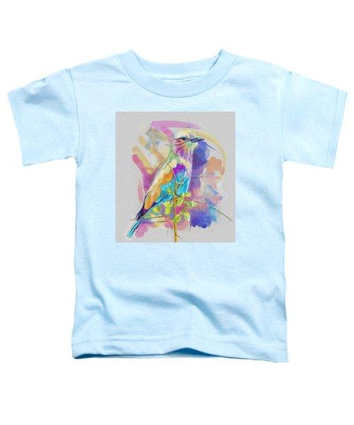 Bird On A Twig Toddler T-Shirt