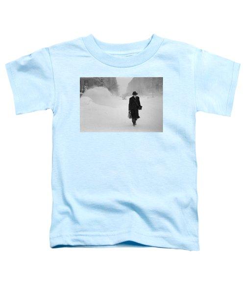 Blizzard On Park Avenue Toddler T-Shirt