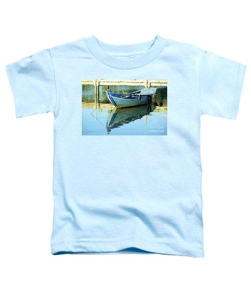 Blue Boat 01 Toddler T-Shirt