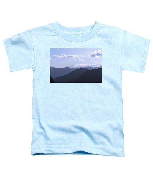 Blue Mountains Toddler T-Shirt