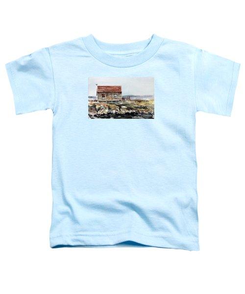 Blue Rocks Nova Scotia Toddler T-Shirt
