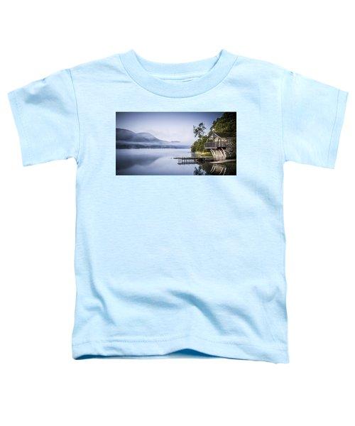 Boathouse At Pooley Bridge Toddler T-Shirt