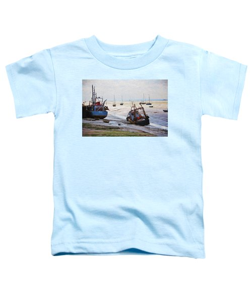 Boats On Mudflats Toddler T-Shirt