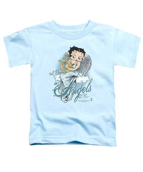 Boop - I Believe In Angels Toddler T-Shirt