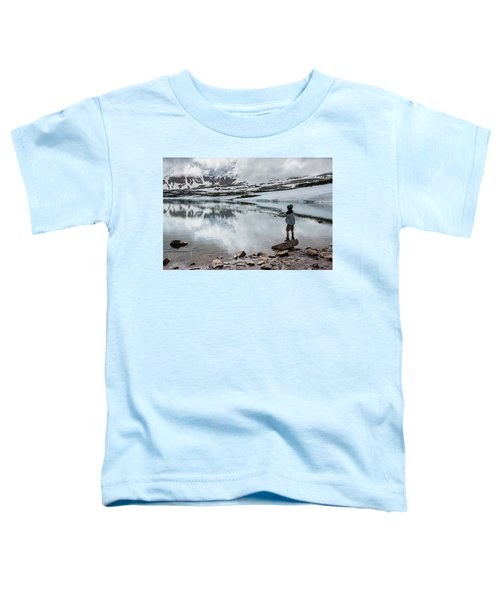 Boys Fish In Superior Lake During A Six Toddler T-Shirt