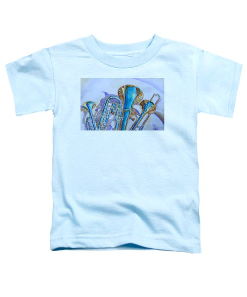 Brass Candy Trio Toddler T-Shirt by Jenny Armitage