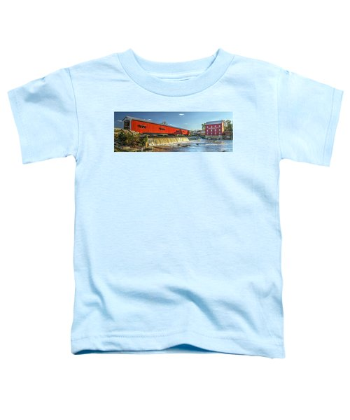 Bridgeton Bridge And Mill Toddler T-Shirt